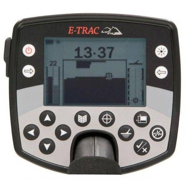 Panel de Control detector de metales Minelab E-Trac