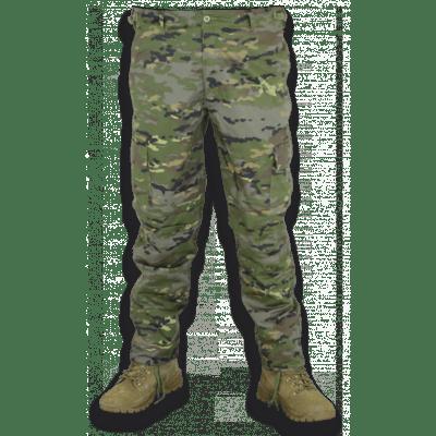 Pantalón Camo Verde