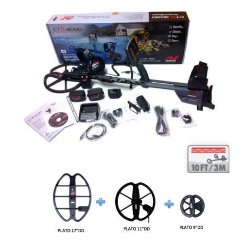 Detector de Metales Minelab CTX 3030 Pro Pack