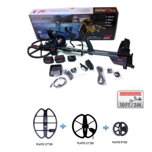 Detector de metales Minelab CTX 3030 Playa Pack