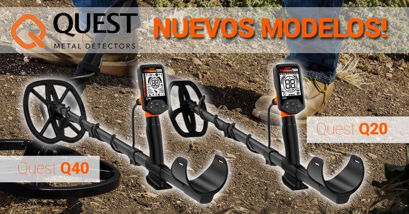 Nuevos detectores de metales Quest Q20 Q40