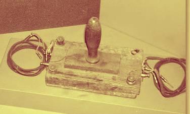 El primer detector de metales